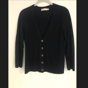 Tory Burch Merino Wool Cardigan (size S)